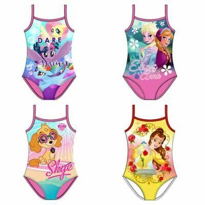 Neu Offiziell Disney Mädchen Schwimmen Kostüme - Strandurlaub Pool Geschenk - Urlaub Schwimmen Kostüm