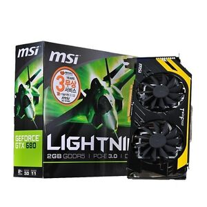 MSI GeForce GTX680 N680GTX Lightning L D5 2GB Graphic Card[VGA/PCI-Ex]