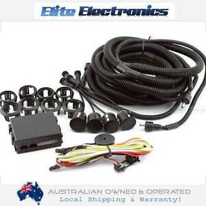 Black Reversing Sensors Car Reverse Parking System Cameron Park Lake Macquarie Area Preview