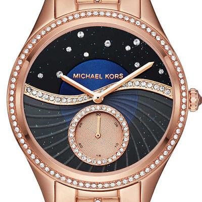 MICHAEL KORS MK 3723 Lauryn Rose Gold-Tone Ladies Watch