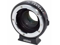 Metabones Speed Booster BMPCC to Nikon