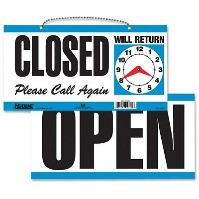 U.s. Stamp Sign Openclosed Sign - Open Closed Please Call Again Will