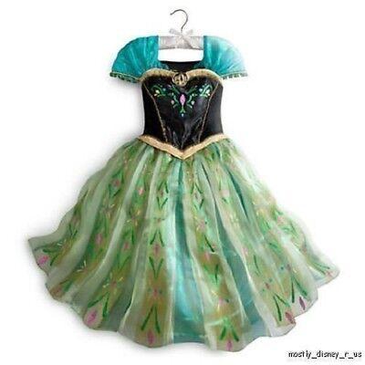 Disney Store die Eiskönigin Prinzessin Anna Deluxe - Deluxe Eis Prinzessin Kostüm