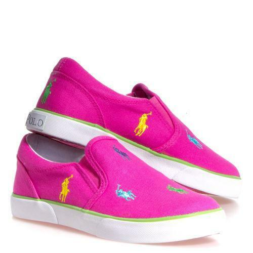 pink polo shoes ebay