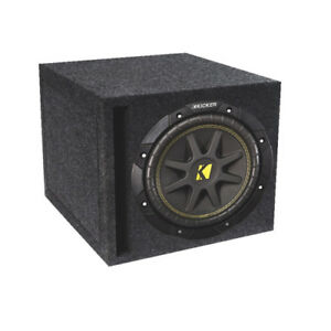 "Kicker Loaded 10"" Car Subwoofer (COMPD10SV)"