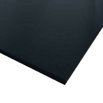Black Celtec Foam Board Plastic Sheets 10mm X 8 X 12 Vacuum Forming