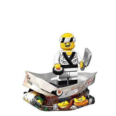 LEGO The Ninjago Movie SUSHI CHEF Minifigure (#19/20) 71019