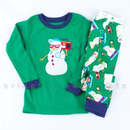 Gap Christmas Pajamas Baby Amp Toddler Clothing Ebay