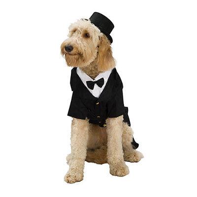 Dapper Dog Formal Tuxedo Pet Halloween (Hunde Tuxedo Kostüm)