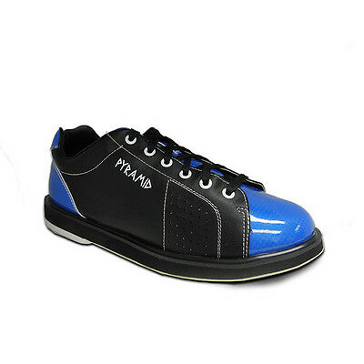 Pyramid Men's Path Black/blue Bowling Shoes