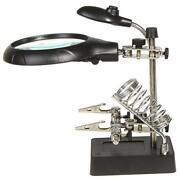 Lighted Magnifier Stand