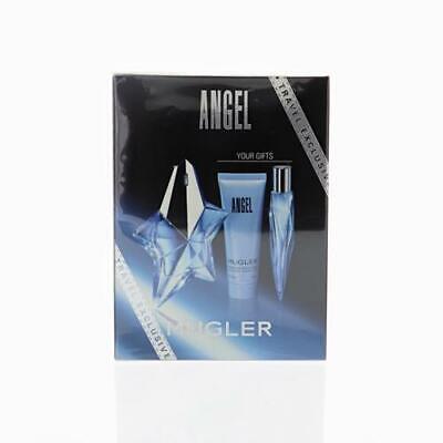 Angel By Thierry Mugler Gift Set - ANGEL by Thierry Mugler 3 PIECE GIFT SET - 1.7 OZ EAU DE PARFUM SPRAY NEW Box