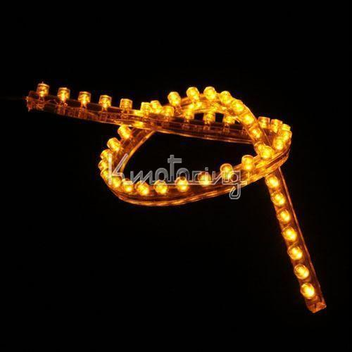 Amber Led Strip Lights Ebay