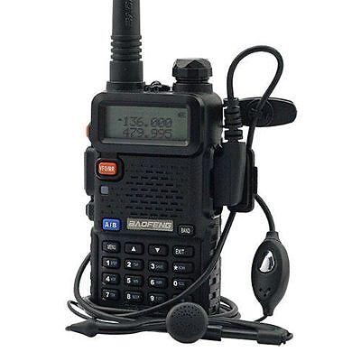 Handheld Radio Scanner Portable Two-Way Digital Transceiver Antenna Police EMS  on Rummage