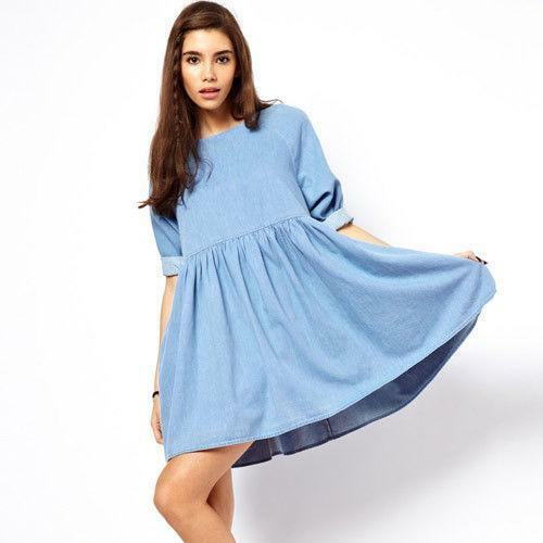 b496975019 ASOS Denim Dress