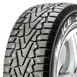 Four NEW 215/55/18 Pirelli Winter Ice Zero - STUDDED