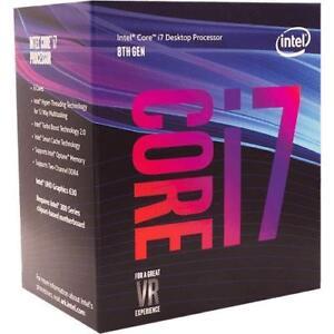 Intel Core i7-8700 Coffee Lake 6-Core 3.2 GHz (4.6 GHz Turbo) LG