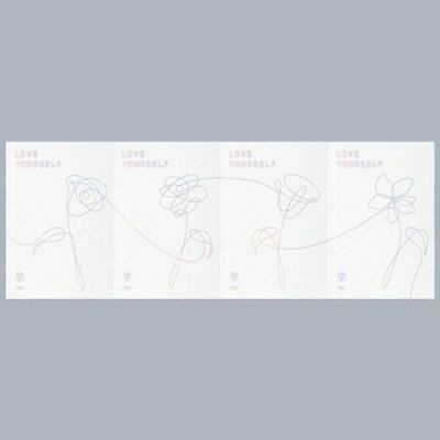 BTS[Love Yourself 承 'HER']5th Mini Album Random Ver CD+Poster+Book+Gift Sealed