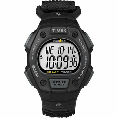 Timex TW5K90800, Men's Ironman 30-Lap Resin Watch, Alarm, Indiglo, Chronograph