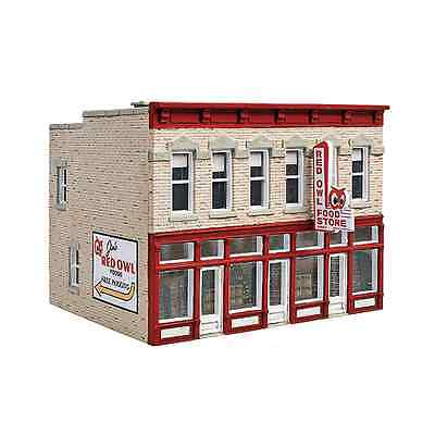 3472 Walthers Jim's Red Owl Food Store HO (Jims Model Trains)