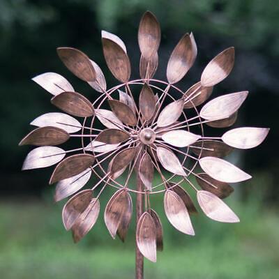 New Creekwood Wind Spinner Dancing Leaves - Bronze - Kinetic Wind Spinner