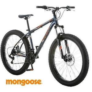 NEW* MONGOOSE TERREX MEN'S BIKE 27.5+ MEN'S BICYCLE MOUNTAIN FAT TIRE 21 SPEED 114255477