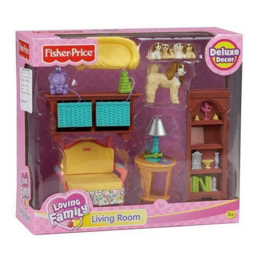 fisher price kitchen accessories loving family living room ebay 7211