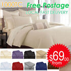 Unbranded Egyptian Cotton Bedding Sheets Flat Sheets