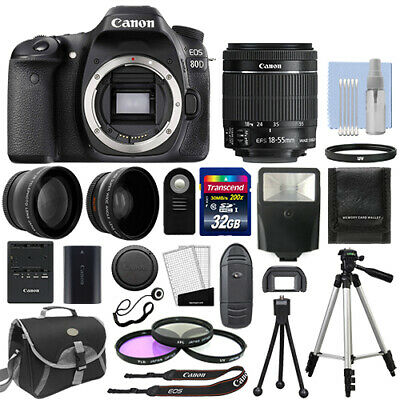 Canon EOS 80D Body Only Digital SLR Camera
