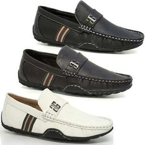 Mens-New-Lace-Up-Casual-Boat-Deck-Mocassin-Designer-Loafers-Driving-Shoes-Size