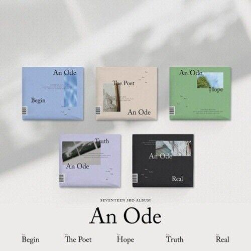 [US SHIPPING]Seventeen - [An Ode] 3rd Album CD+PhotoBook+Mini Book+Card