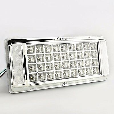 White 36 LED Car Vehicle Dome Roof Ceiling Interior Light Lamp DC 12V Silver US (Led Vehicle Light)