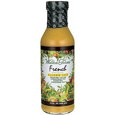 Calories French Dressing - Walden Farms Calorie Free Natural Flavored French Dressing - 12 fl oz