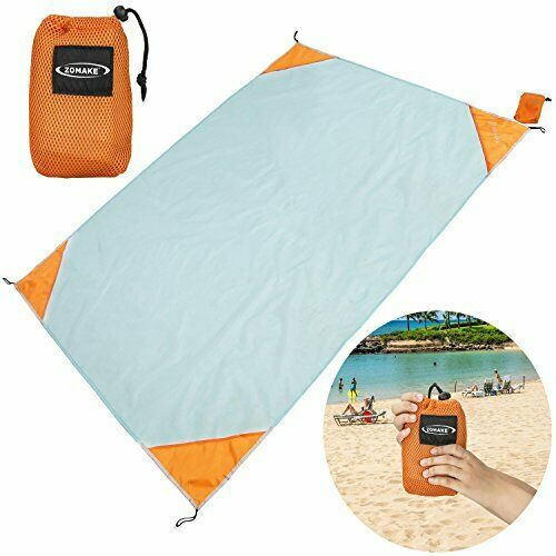 Zomake Lightweight Waterproof Compact Outdoor Beach Blanket