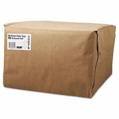 Gen 16 Brown Kraft Paper Grocery Bags 52lb 500 Bags Bag Sk1652