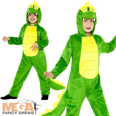 Crocodile Kids Fancy Dress Alligator Animal Roald Dahl Book Day Childs Costume
