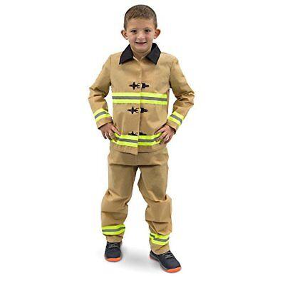 Fearless Firefighter Children's Halloween Dress Up Party Roleplay Costume (Fireman Dress Up)