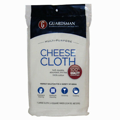 Guardsman Products: 004012: Cheese Cloth,100% Cotton, 4 Yards