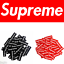 1-10-25-pcs-Red-Black-Supreme-Box-Skateboard-Logo-Sticker-Decal-Phone-Car-Toy