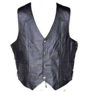 Motorbike Leather vest Eagle Embossed Live to Ride Clayton Monash Area Preview