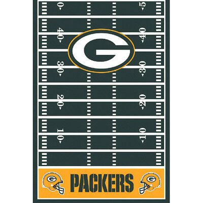 NFL GREEN BAY PACKERS PLASTIC TABLE COVER ~ Birthday Party Supplies Cloth Decor
