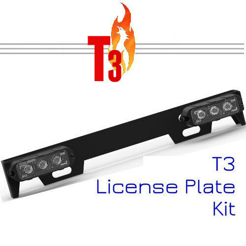 Feniex T3 License Plate Kit NEW Amber