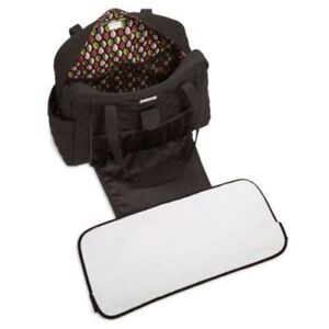 Vera Bradley Large Stroll Around Baby Bag Microfiber Espresso for ... 86c5a9eb68605