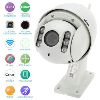 KKmoon 1080P Auto-core PTZ Wireless WiFi IP Camera Security CCTV Camera X0K3