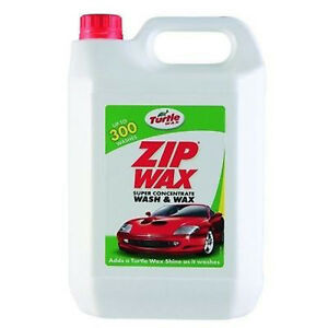 Turtle Wax Zip Super Concentrate Wash And Wax 5L - FG3663