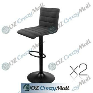 2 of Comfortable L-shaped Fabric Kitchen Bar Stool