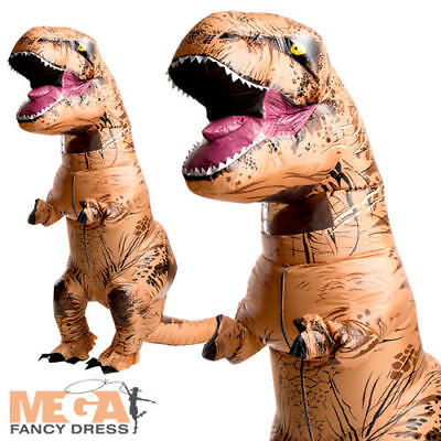 Huge Inflatable T-Rex Dinosaur Fancy Dress Adults Halloween Mens Ladies Costume