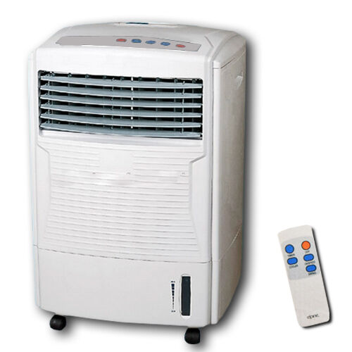 16kw Air Cooled Water Cooler : Air cooler with remote control cold humidifying fan timer