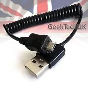 Coiled Micro USB