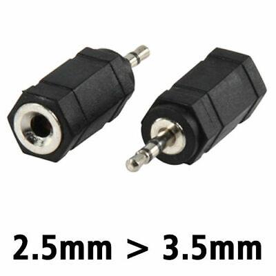 2,5 Mm Klinke ( Audio Adapter von 3,5 mm Buchse auf 2,5 mm Klinke MP3 Musik Anlage Handy Z29)